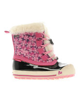 Girl's Harmony Lace Waterproof Walking Boots