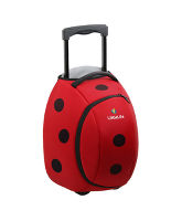 Animal Wheelie Duffle Bag - Ladybird