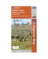 Explorer 109 Bodmin Moor Map