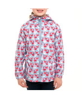 Girl's Back Pocket Waterproof Jacket
