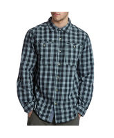 Men's Long-Sleeved Roll-Up Shirt
