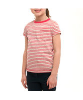 Girl's Neppy Yarn Pocket T-Shirt