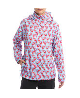 Women's Goose Print Jack-in-a-Pack