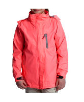 Girl's Fluorescent Waterproof Jacket