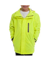 Boy's Fluorescent Waterproof Jacket