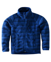 Boy's Knitlook Stripe Fleece