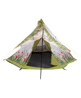 Tepee Meadow Floral 10 Person Tent