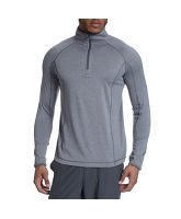 Men's 1/2 Zip Stretch Base Layer Top