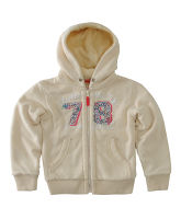 Girl's Borg Lined Zip Fleece