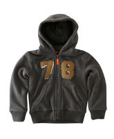 Boy's Borg Lined Zip Fleece