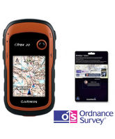eTrex 20 GPS with BirdsEye Select Mapping Voucher
