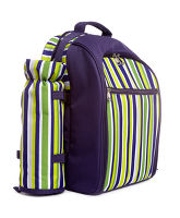 Stripe Picnic Backpack