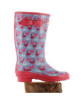 Girl's Geese Wellies