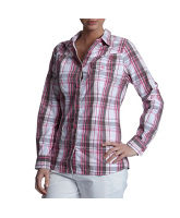 Women's Long-Sleeved Roll Up Shirt