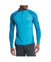 Men's Vapour LS Zip Top