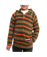 Boy's Striped Polar Fleece