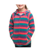 Girl's Striped Polar Fleece