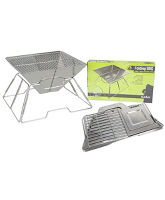Foldable Stainless Steel BBQ
