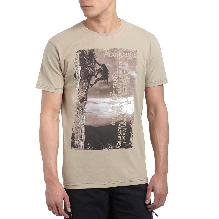 Mens Photo Climbing T-Shirt