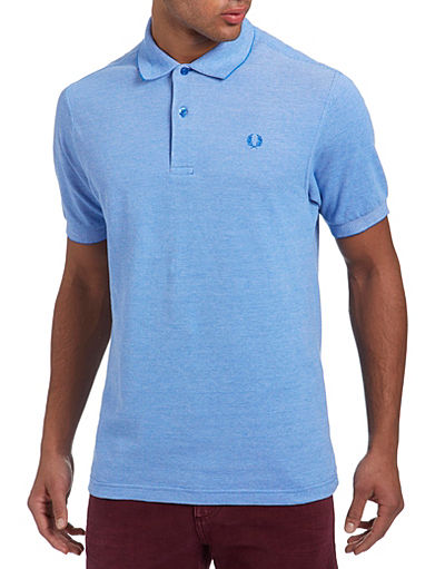Fred Perry Plain Oxford Polo Shirt