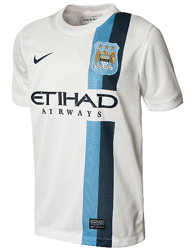 Nike Manchester City 2013/14 Junior Third Shirt