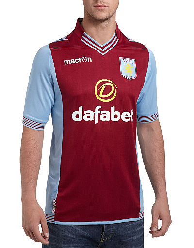 Macron Aston Villa 2013/14 Home Shirt