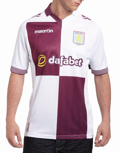 Buy Macron Aston Villa 2013/14 Away Kit