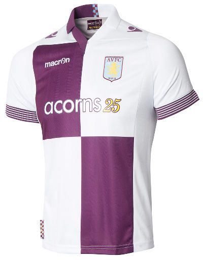 Buy Macron Aston Villa 2013/14 Junior Away Kit
