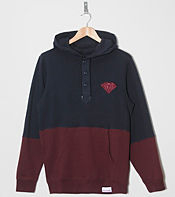 Diamond Supply Split Henley Overhead Hoody