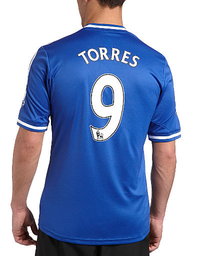 adidas Chelsea Home Shirt 2013/14-Torres