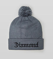 Diamond Supply Diamond4Life Bobble Beanie