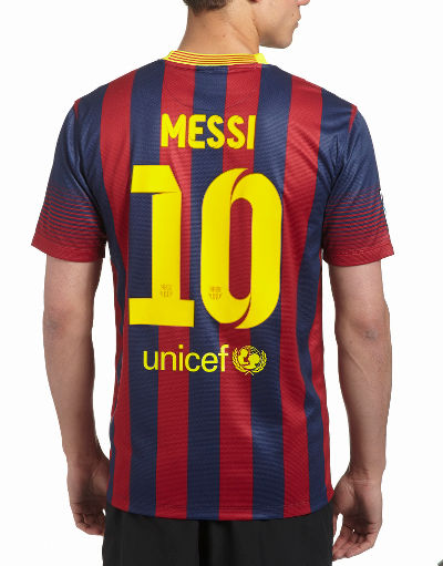Nike Barcelona 2013/14 Messi Home Shirt