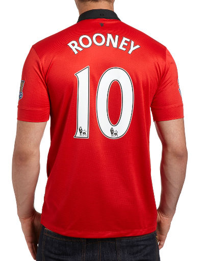 Nike Manchester United 2013/14 Rooney Home Shirt