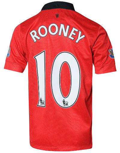 Nike Manchester United 2013/14 Junior Rooney Home Shirt