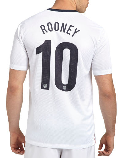 Nike England 2013/14 Rooney Home Shirt