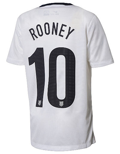 Nike England 2013/14 Junior Rooney Home Shirt