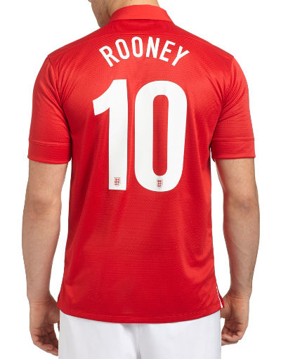 Nike England 2013/14 Rooney Away Shirt