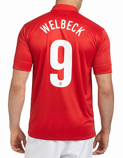 Nike England 2013/14 Welbeck Away Shirt