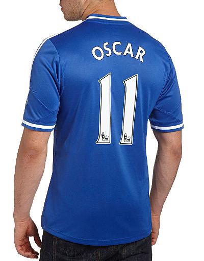 adidas Chelsea 2013/14 Oscar Home Shirt