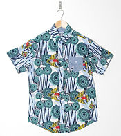 Staple Design 67 Terrapin Afrique Short Sleeve Shirt