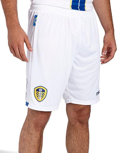 Macron Leeds United 2013/14 Home Shorts