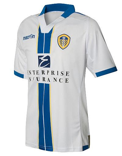 Macron Leeds United 2013/14 Junior Home Shirt