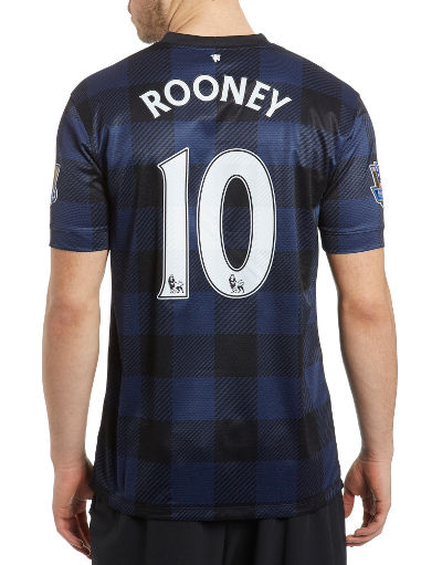 Nike Manchester United 2013/14 Rooney Away Shirt