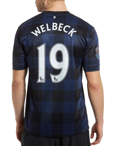 Nike Manchester United 2013/14 Welbeck Away Shirt