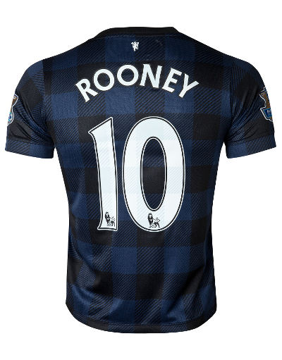 Nike Manchester United FC 2013 Away Shirt Rooney Junior