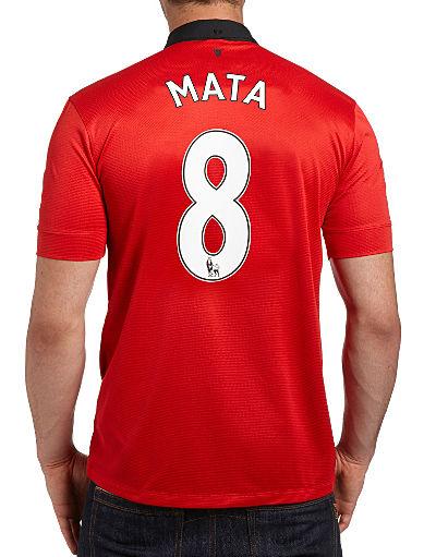 Nike Manchester United 2013/14 Mata Home Shirt PREORDER