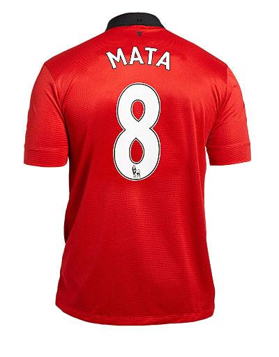 Nike Manchester United 2013/14 Mata Home Shirt-PREORDER