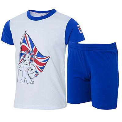 Lion T-Shirt and Shorts Set