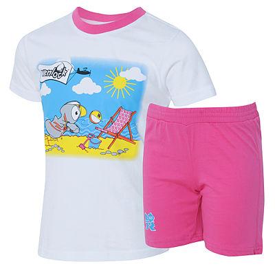 Mascot T-Shirt and Shorts Set