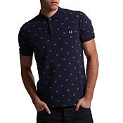 Fred Perry Laurel Print Polo Shirt